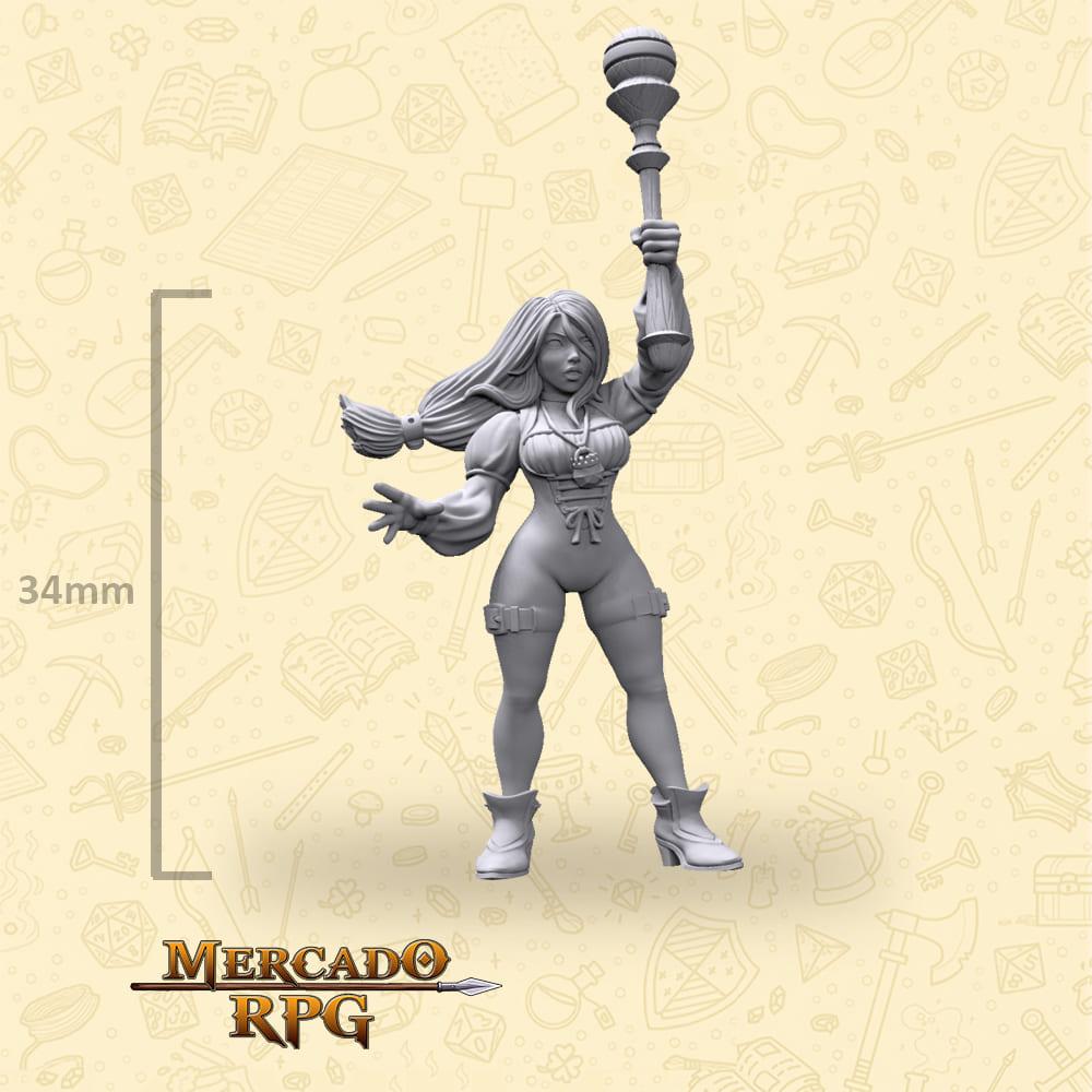 Seila - Miniatura Final Fantasy - RPG