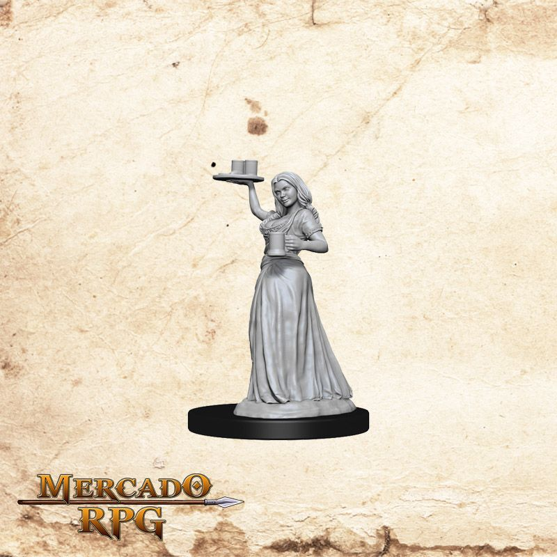 Serving Girl - Miniatura RPG  - Mercado RPG