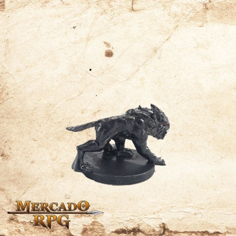Shadow Mastiff - Com carta  - Mercado RPG