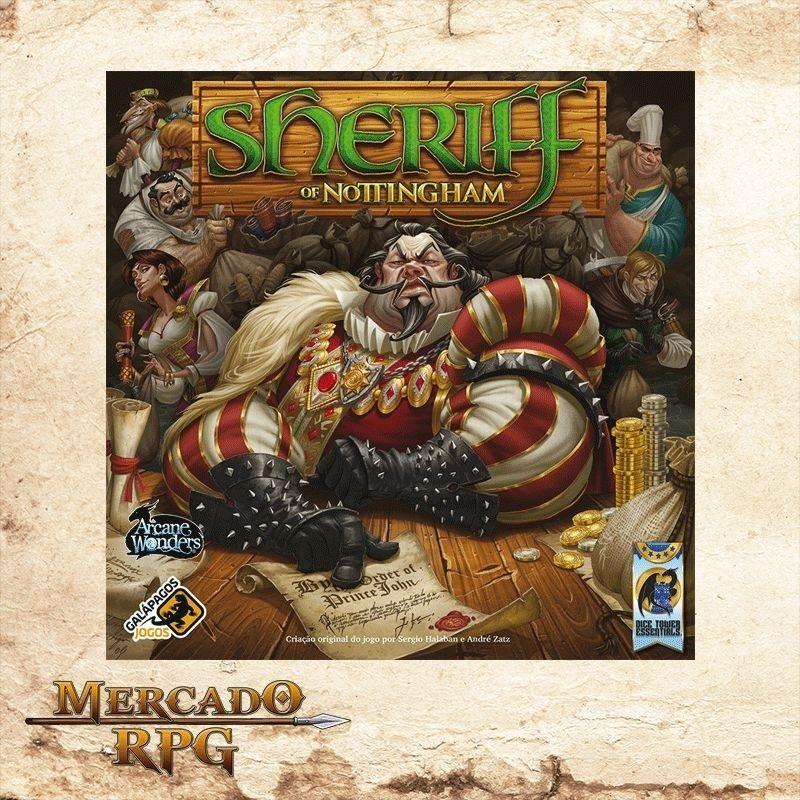 Sheriff of Nottingham - Em português  - Mercado RPG