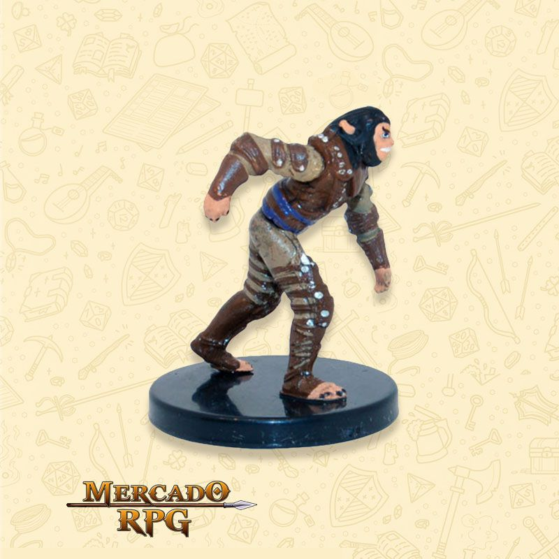 Shifter Rogue - Miniatura RPG D&D Icons of the Realms