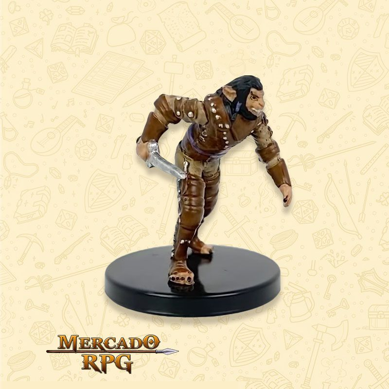 Shifter Rogue Knife - Miniatura RPG D&D Icons of the Realms