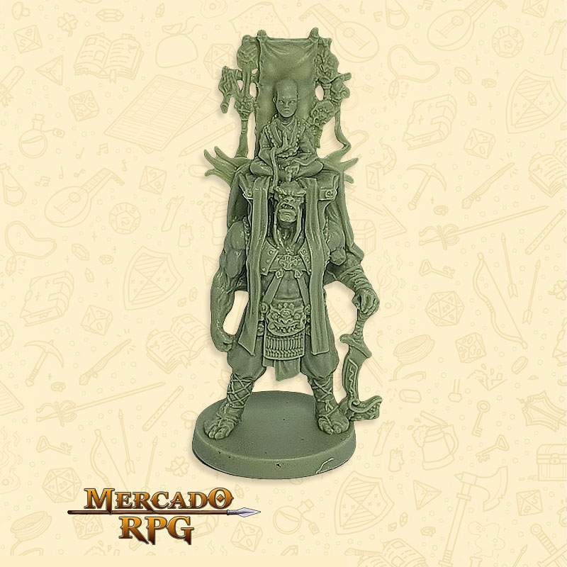 Shinto Clã Tartaruga - Miniatura RPG  - Mercado RPG