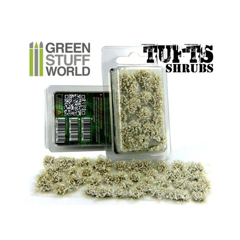 Shrubs TUFTS - 6mm self-adhesive - WHITE - RPG  - Mercado RPG
