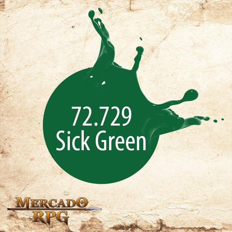 Sick Green 72.729  - Mercado RPG
