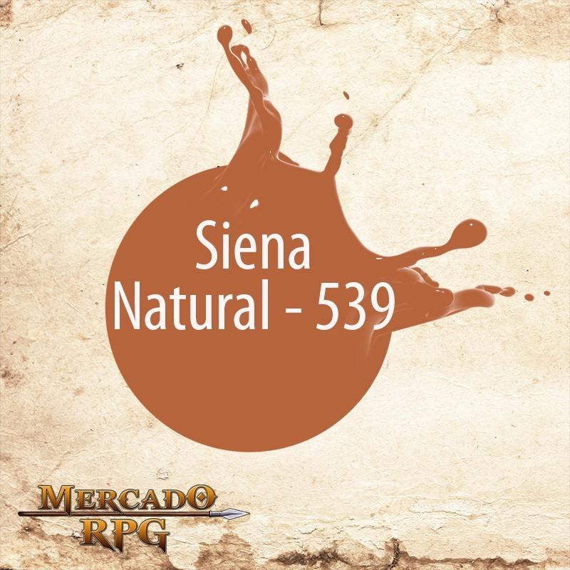 Siena Natural 539 - Tinta Acrílica Fosca Nature Colors 60ml - Acrilex - RPG