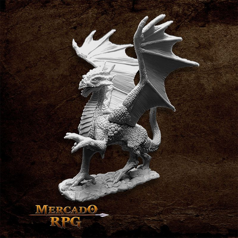 Silver Dragon - Miniatura RPG
