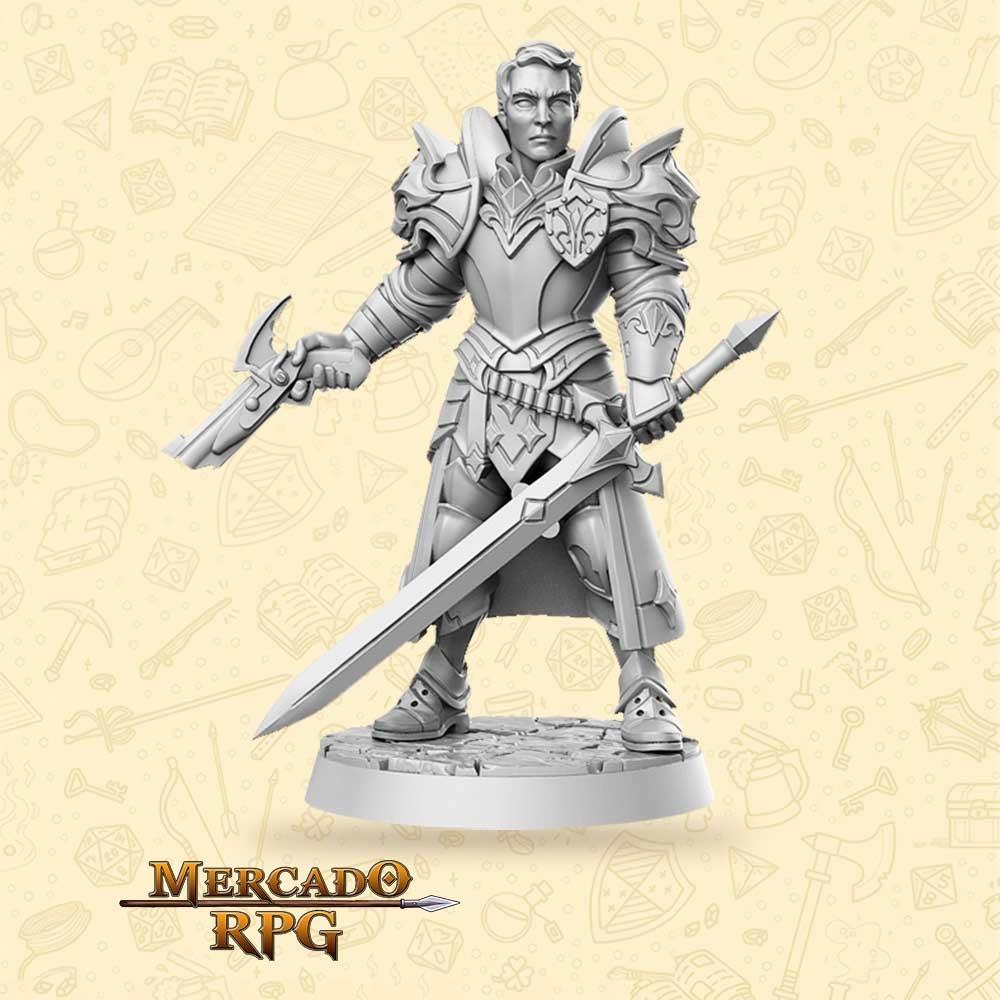 Sir Kris - Miniatura - RPG