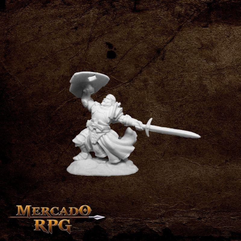 Sir Rathan Kranzhel, Human Fighter  - Mercado RPG