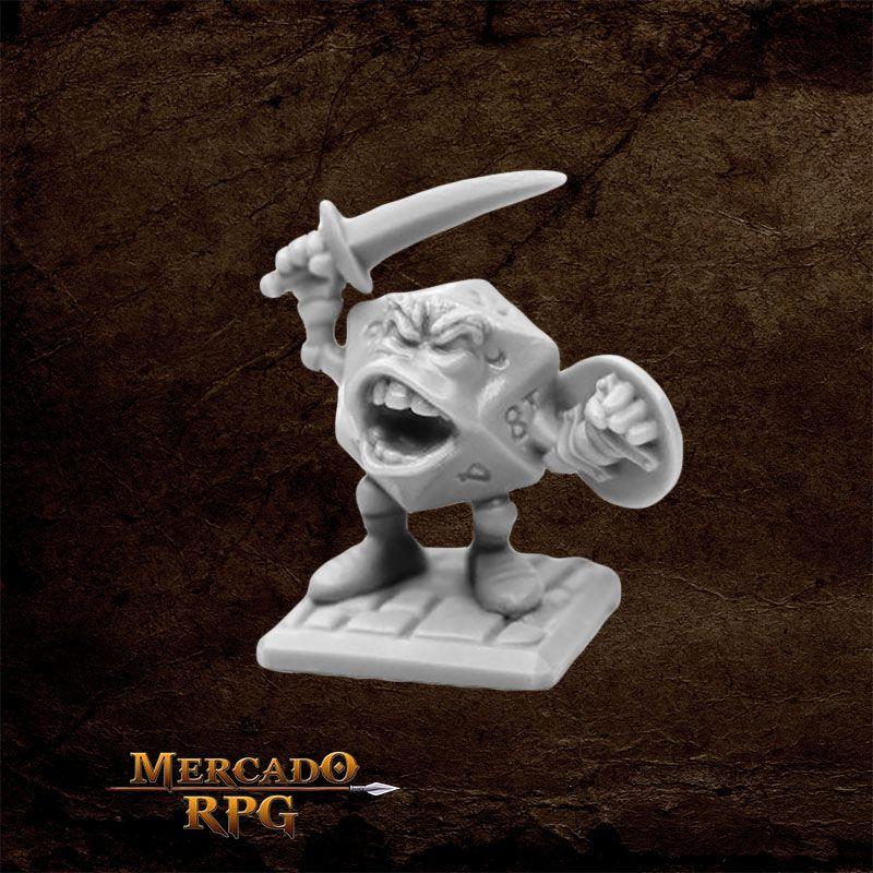 Sir Vigintor, d20 - Miniatura RPG
