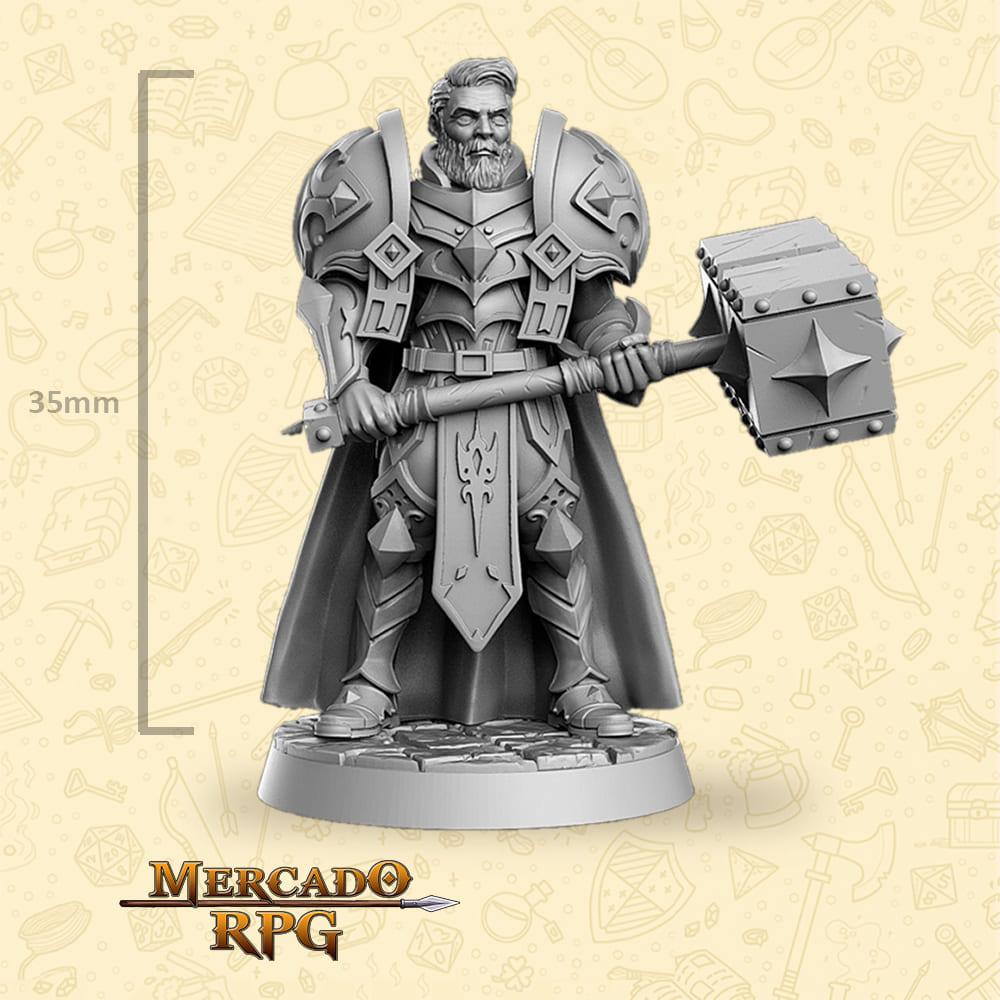 Sir Warrick - Miniatura - RPG