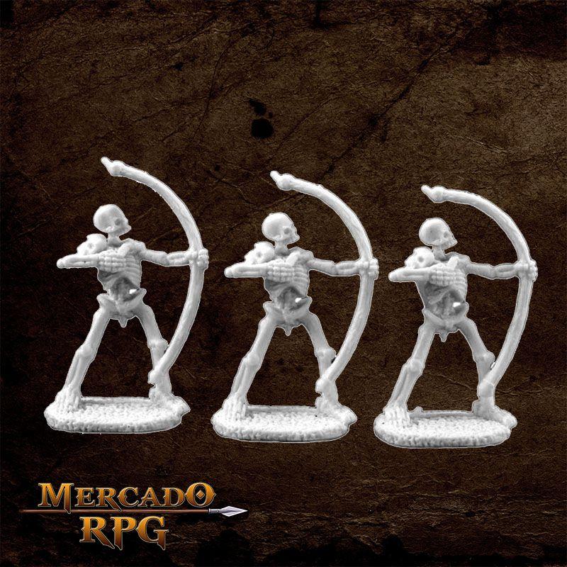 Skeletal Archer (3)  - Mercado RPG