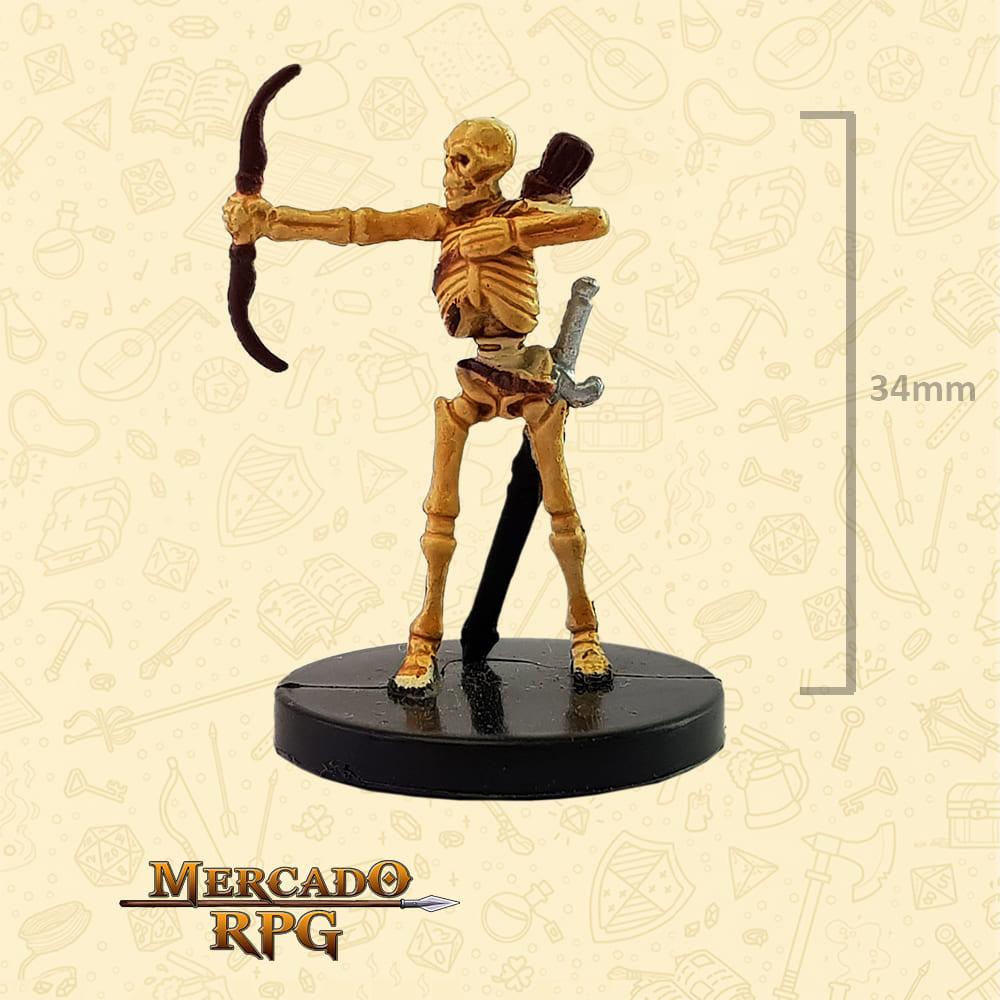 Skeletal Archer - Miniatura D&D - RPG