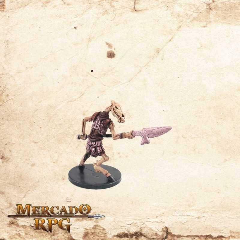 Skeletal Equicepth - Com carta  - Mercado RPG