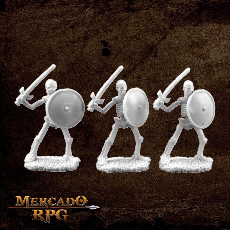 Skeletal Swordsman (3)  - Mercado RPG
