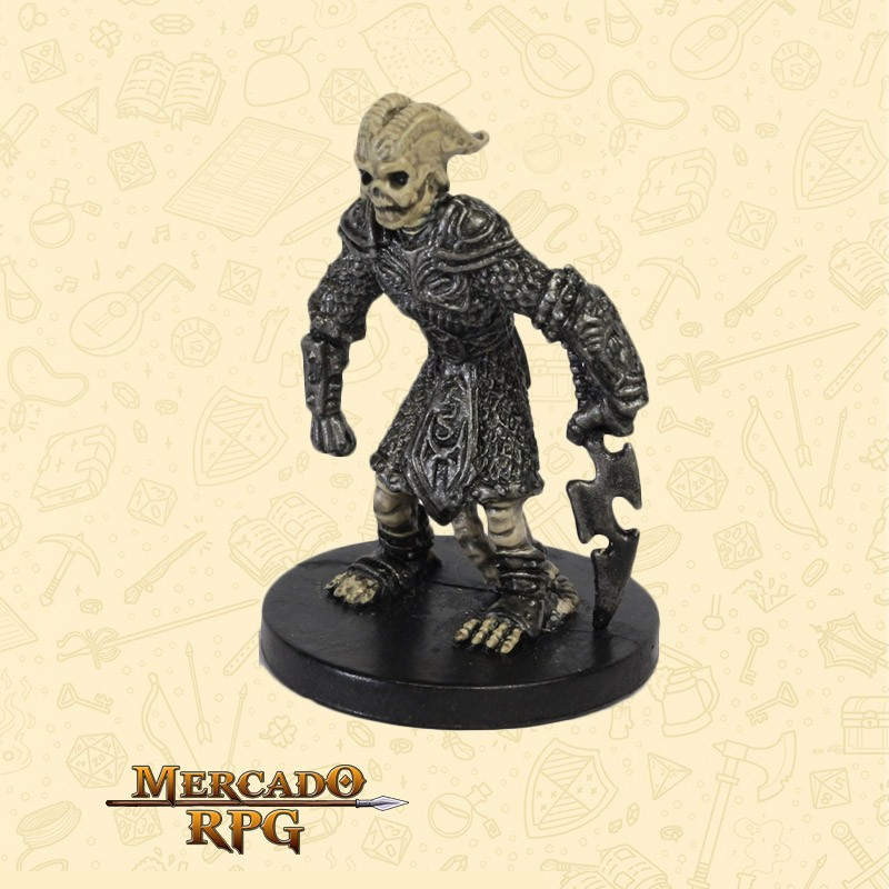 Skeletal Tiefling - Miniatura D&D - RPG