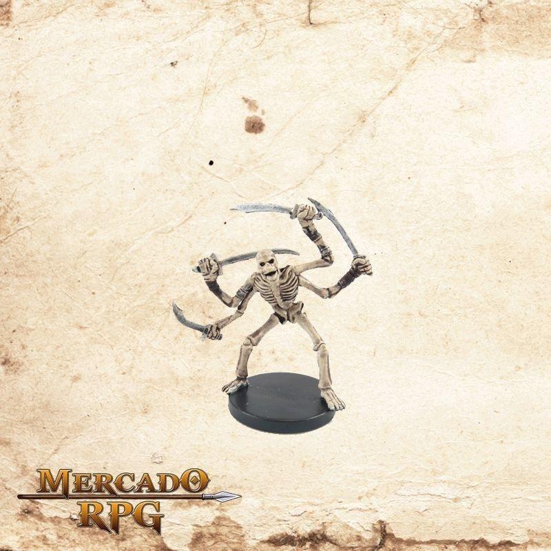 Skeletal Tomb Guardian - Com carta  - Mercado RPG