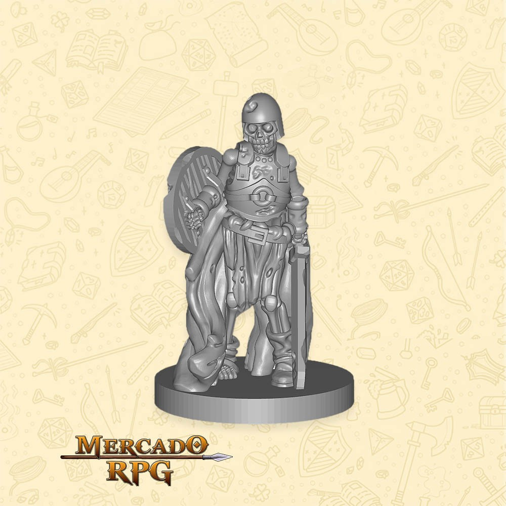 Skeleton Guard - Miniatura - RPG