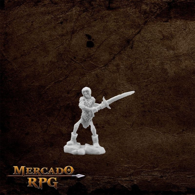 Skeleton Guardian two handed sword  - Mercado RPG