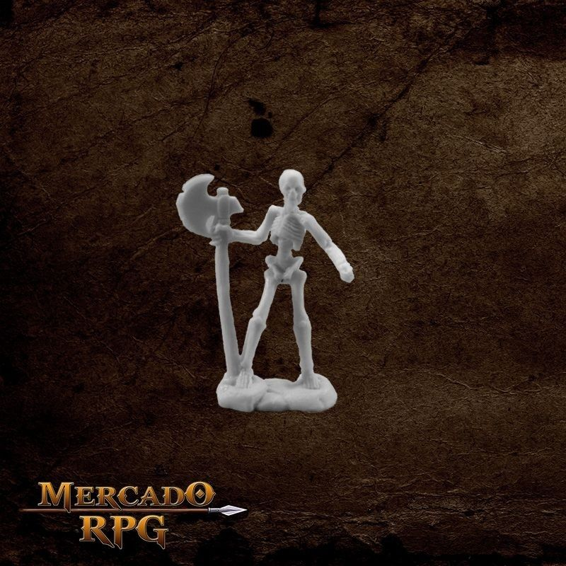 Skeleton Warrior Axeman  - Mercado RPG