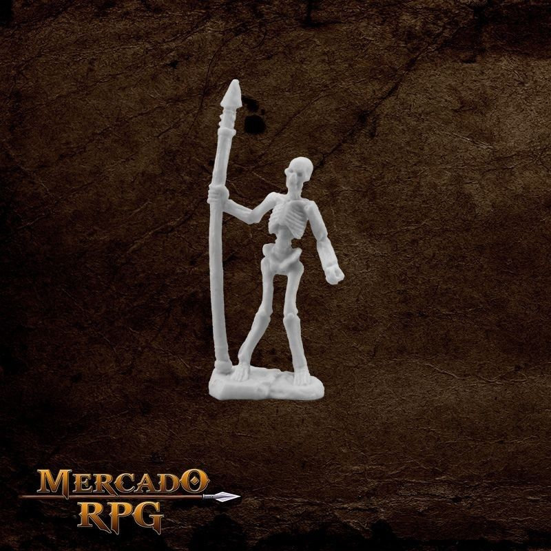 Skeleton Warrior Spearman  - Mercado RPG