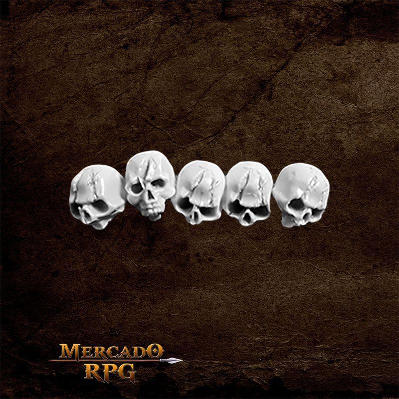 Skulls - Caveiras Para Bases - RPG