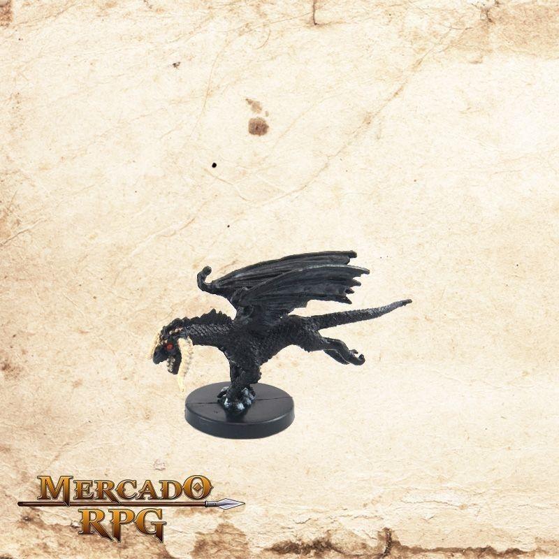 Small Black Dragon - Sem carta  - Mercado RPG