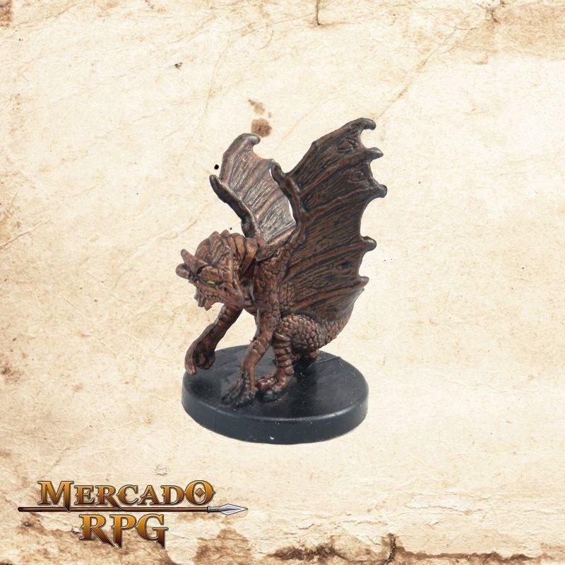 Small Copper Dragon - Com carta  - Mercado RPG