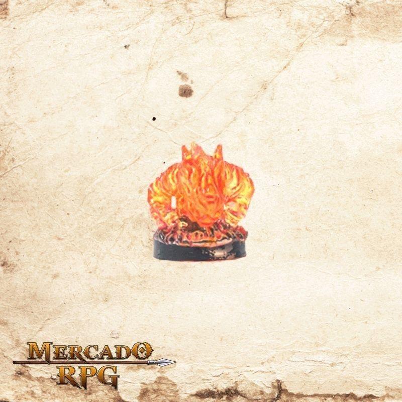 Small Fire Elemental - Sem carta  - Mercado RPG