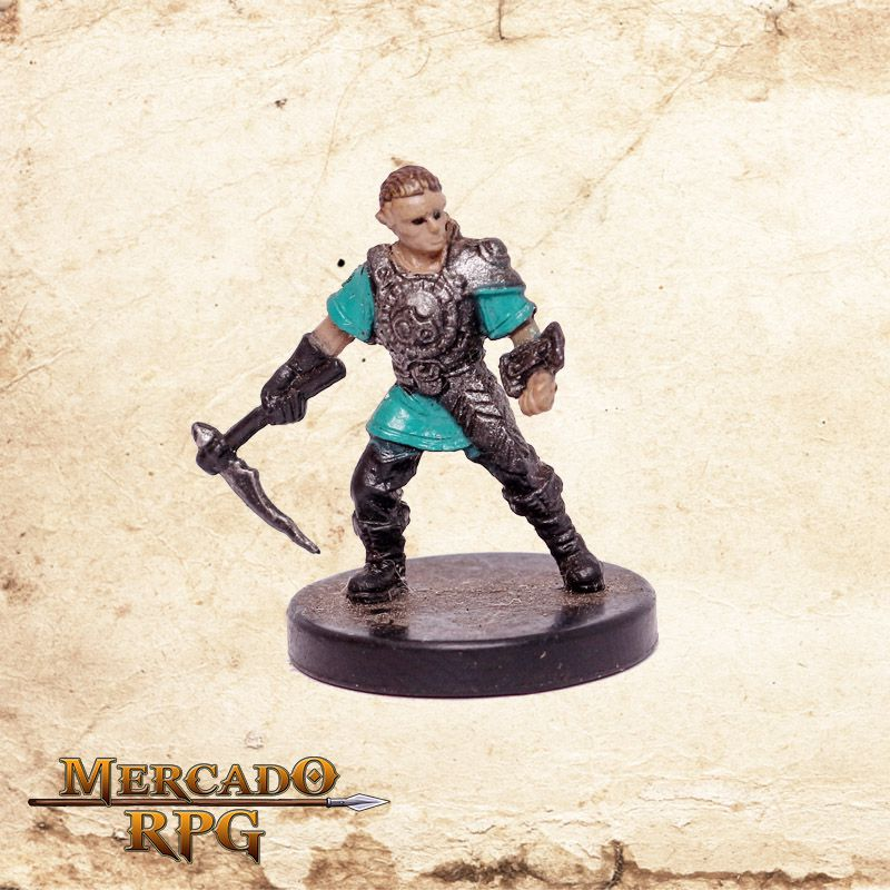 Soldier of Bytopia - Miniatura RPG  - Mercado RPG
