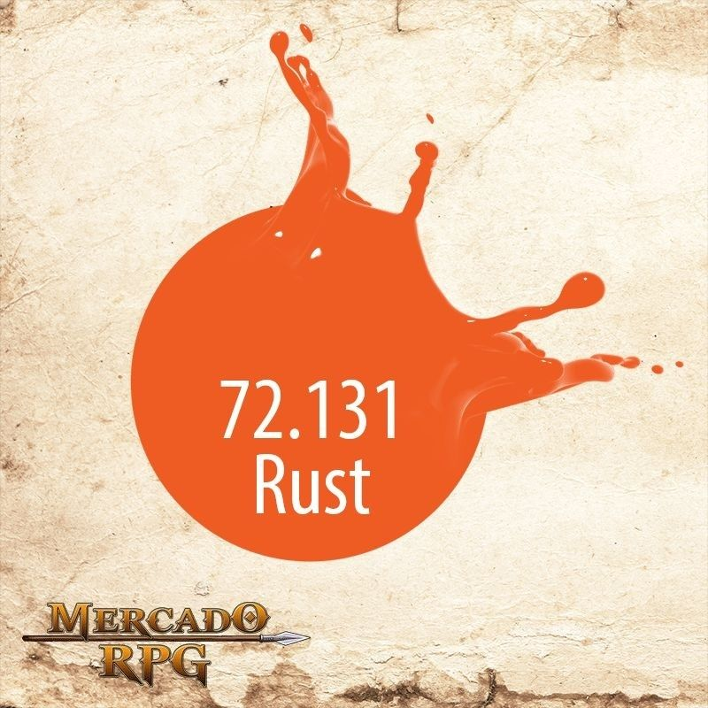 Special Effect Colors Rust 72.131  - Mercado RPG