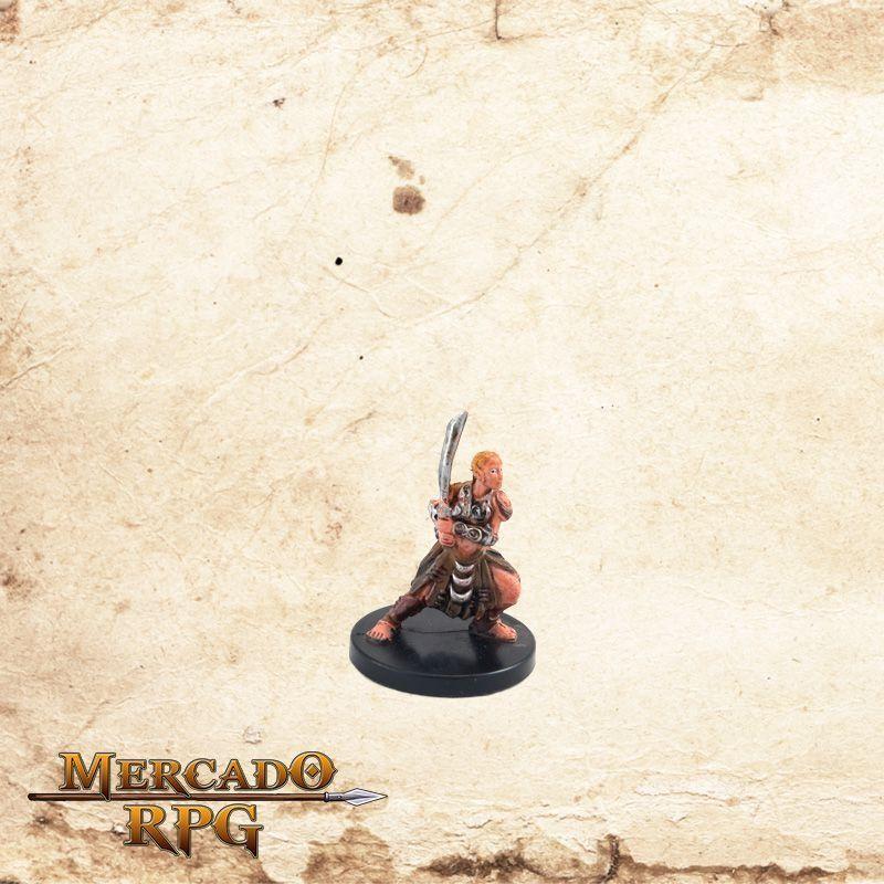 Spirit Folk Fighter - Sem carta  - Mercado RPG
