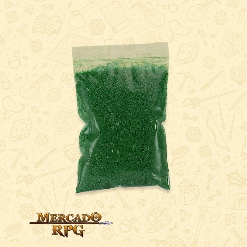 Static Grass - Medium Green - RPG