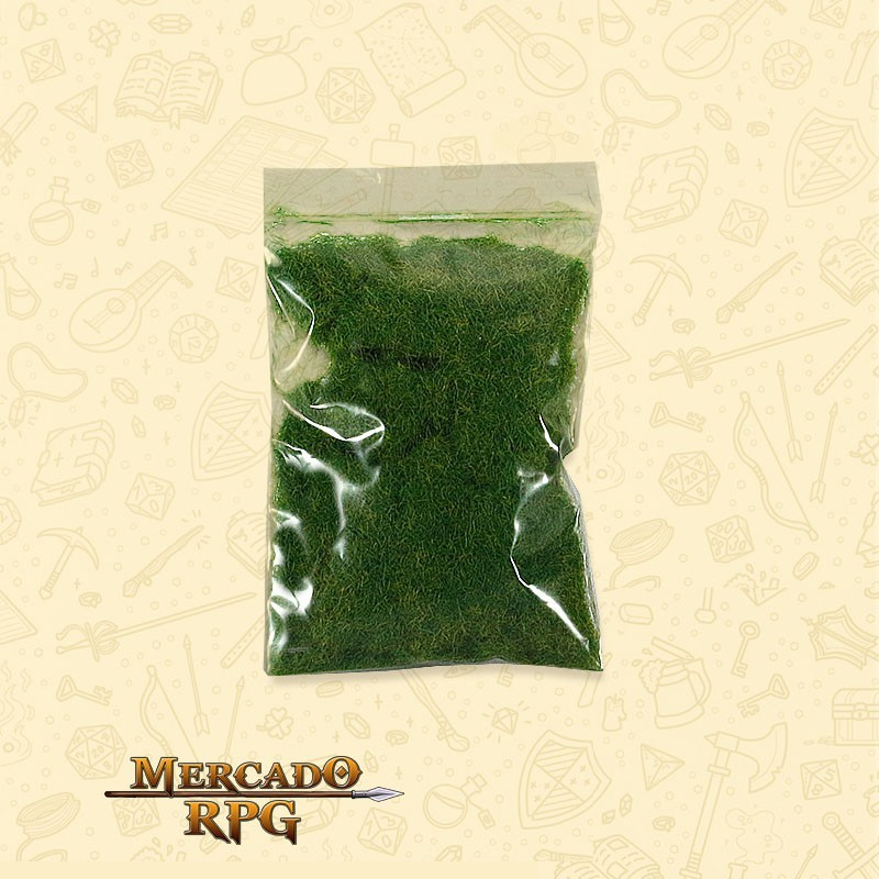 Static Grass para Cenário - Realistic Green - RPG