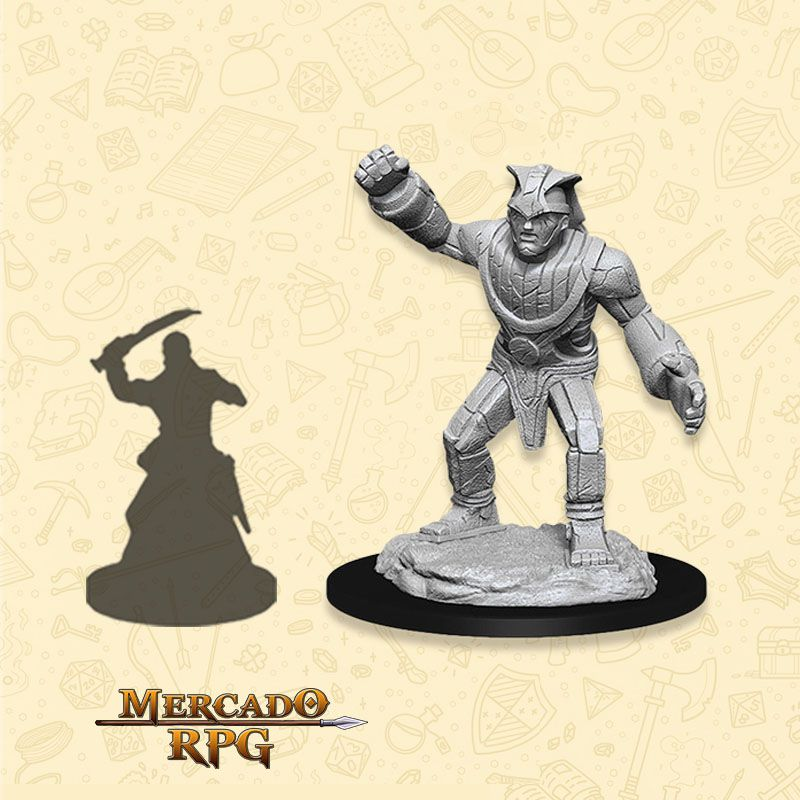 Stone Golem - Miniatura RPG  - Mercado RPG
