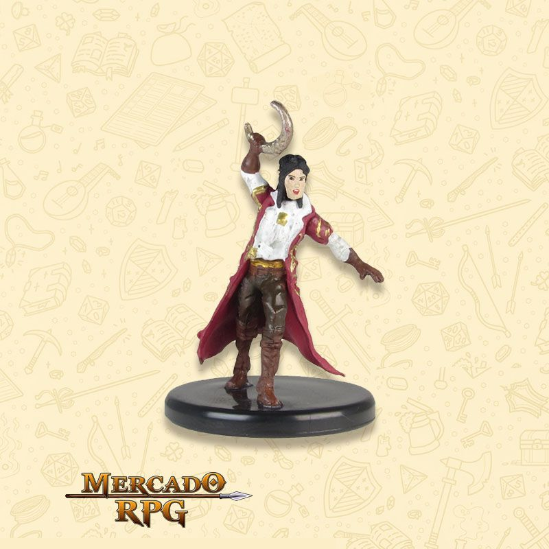 Sun Elf Arcane Cleric - Miniatura RPG  - Mercado RPG