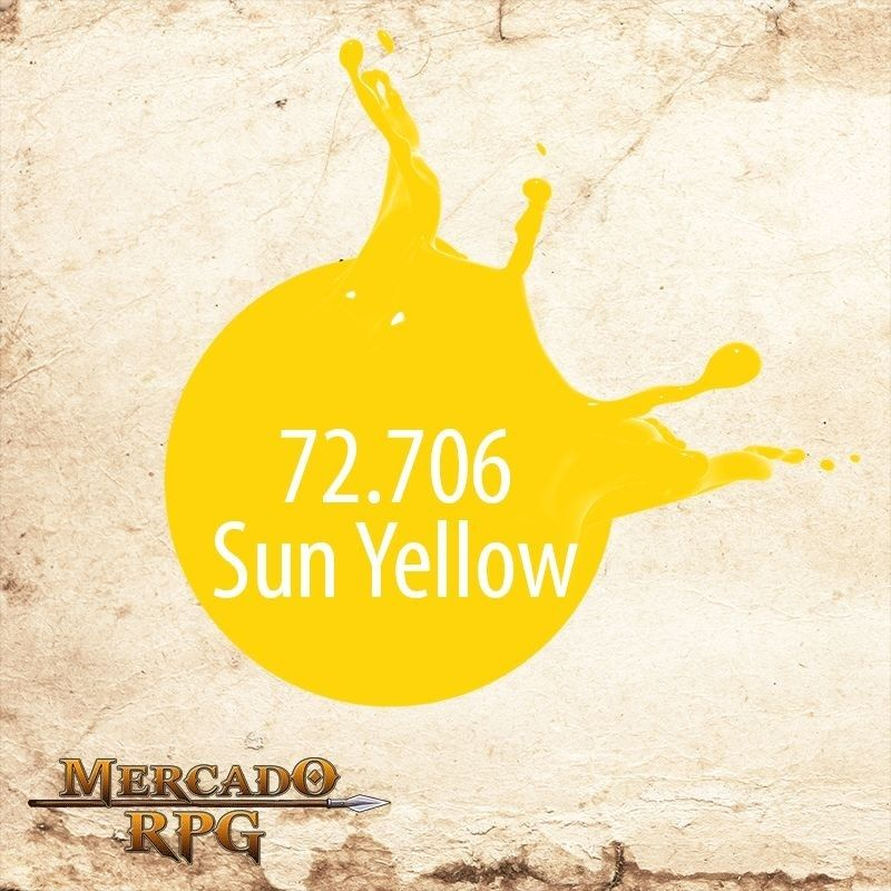 Sun Yellow 72.706  - Mercado RPG