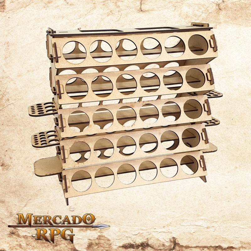 Suporte para Tintas Acrilex   - Mercado RPG