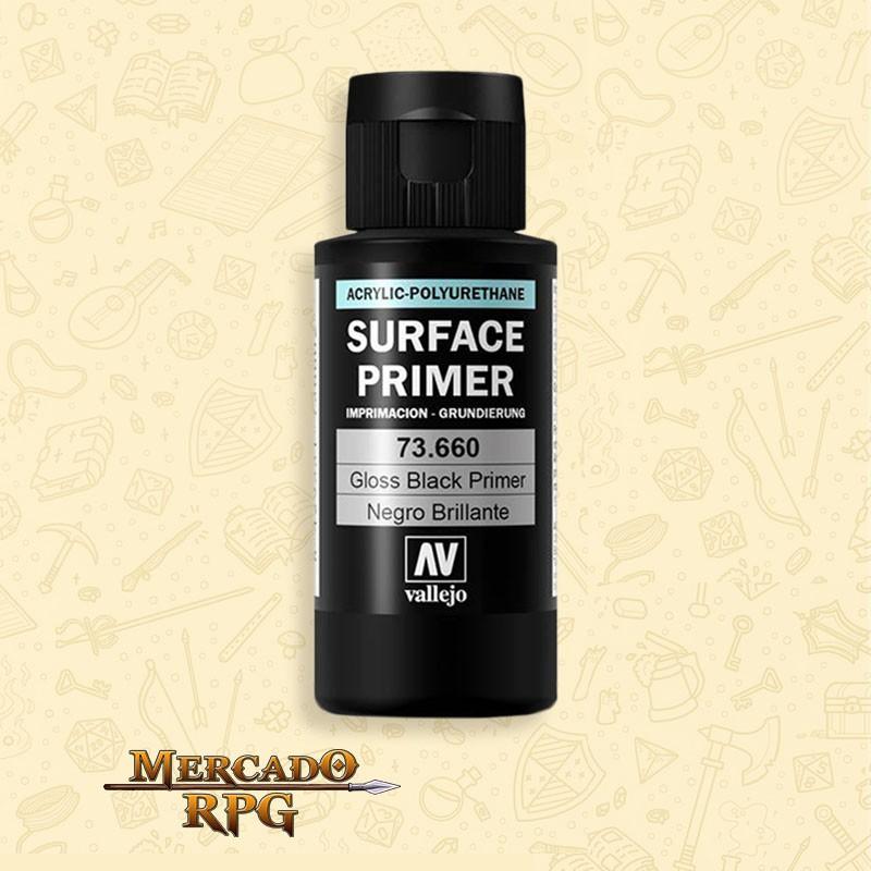 Surface Primer Gloss Black 60ml. - RPG