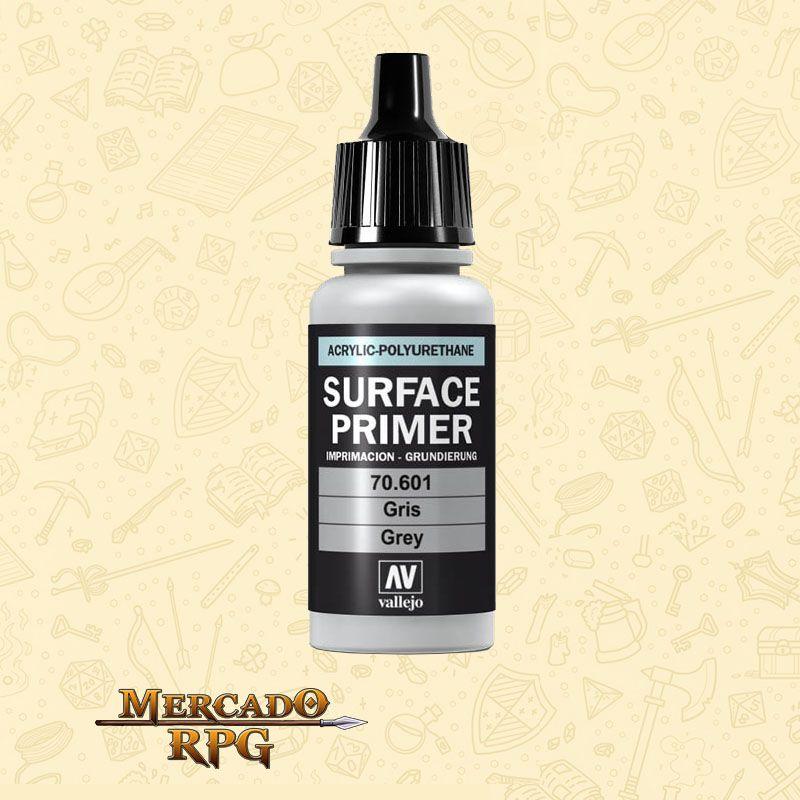 Surface Primer Vallejo Grey 17ml - RPG