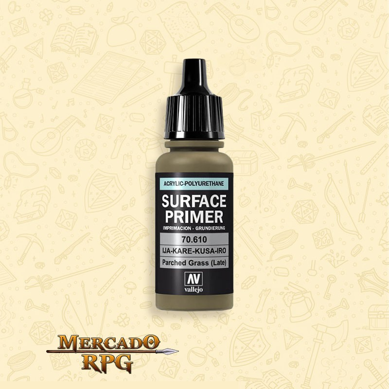 Surface Primer Parched Grass - RPG  - Mercado RPG