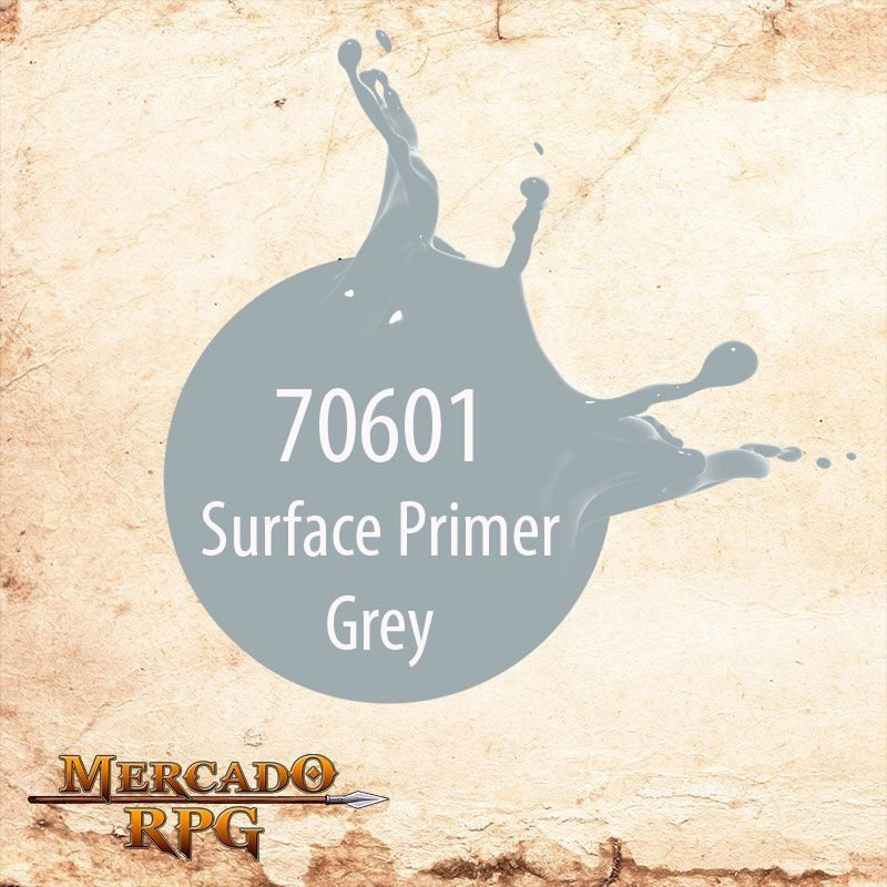 Surface Primer Grey 70.601  - Mercado RPG