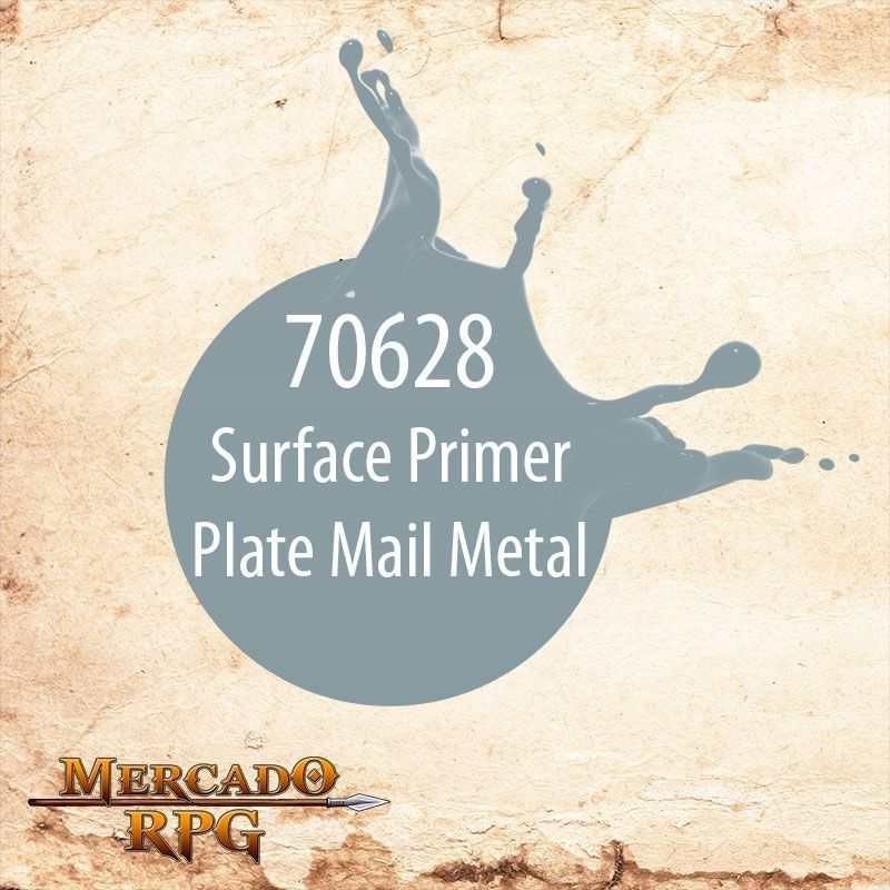 Surface Primer Plate Mail Metal 70.628  - Mercado RPG