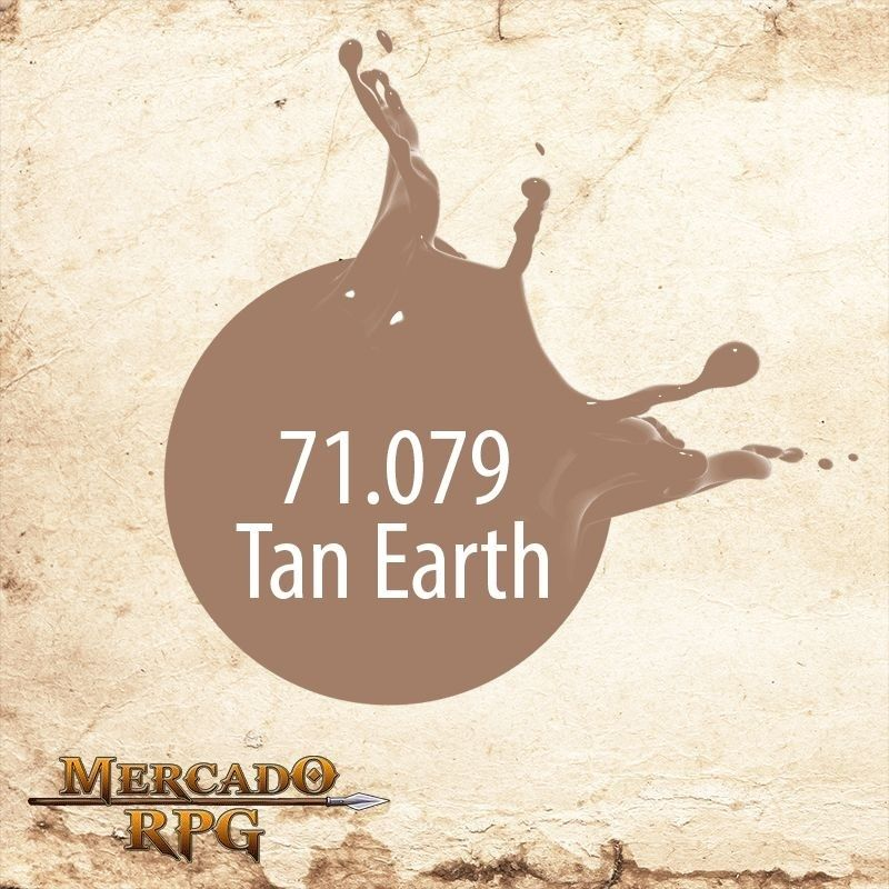Tan Earth 71.079  - Mercado RPG