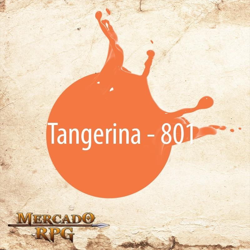 Tangerina 801 - Tinta Acrílica Fosca Nature Colors 60ml - Acrilex - RPG