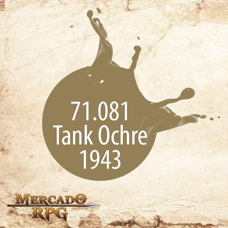 Tank Ochre 71.081  - Mercado RPG