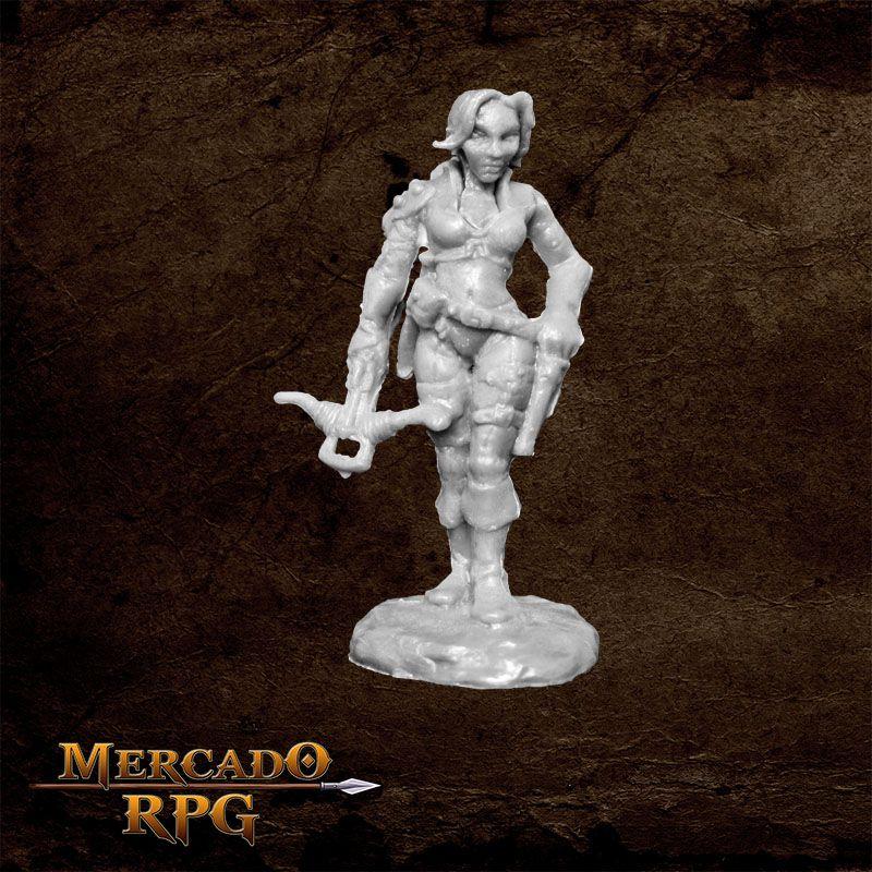 Tara the Silent - Miniatura RPG