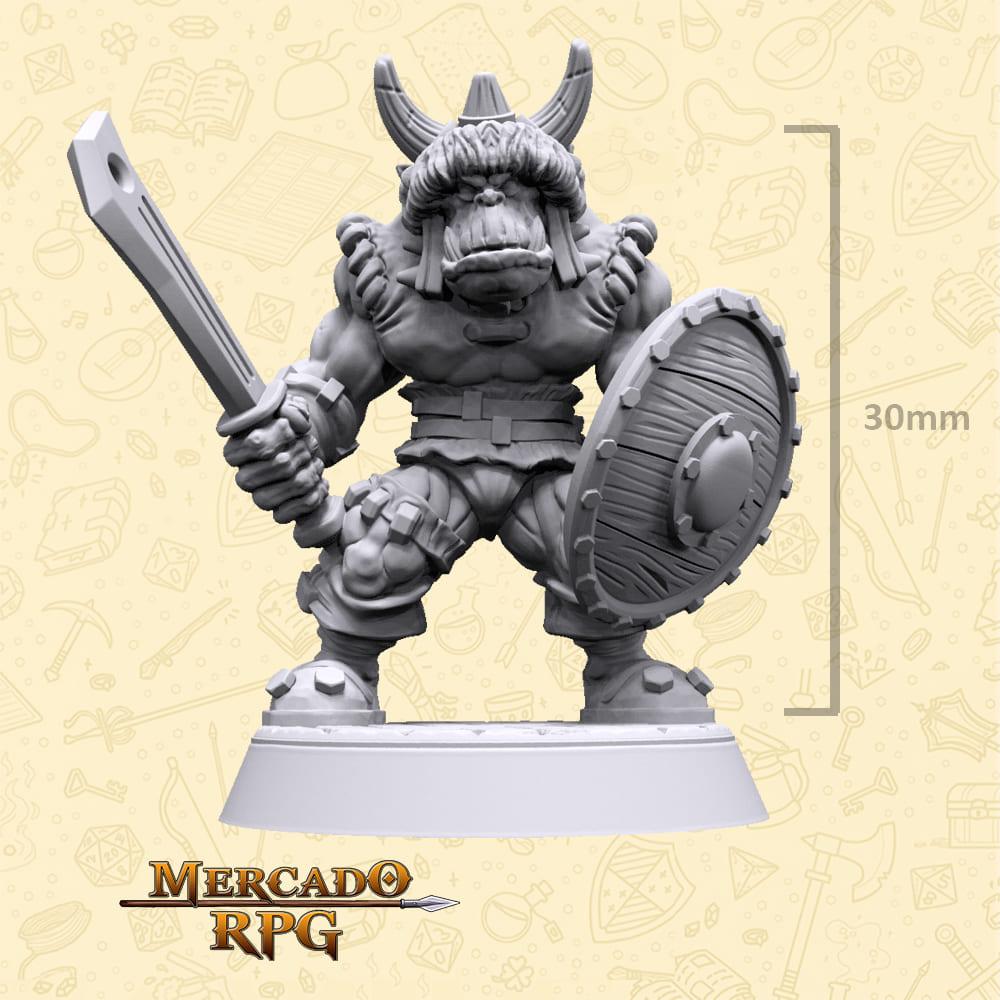 Taruk Orc Soldier - Miniatura - RPG