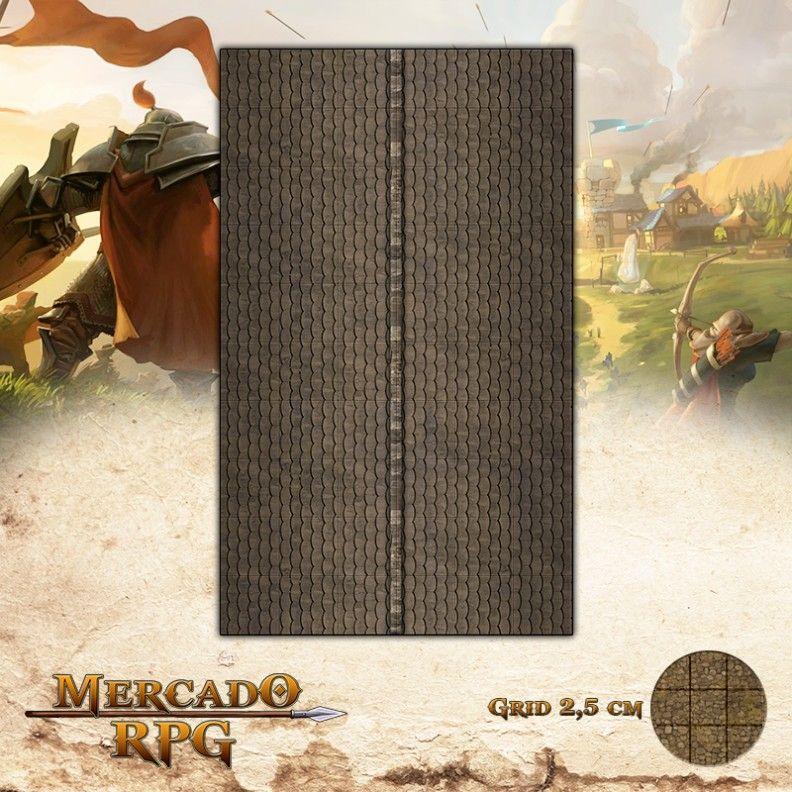 Telhado Tipo B  - Mercado RPG