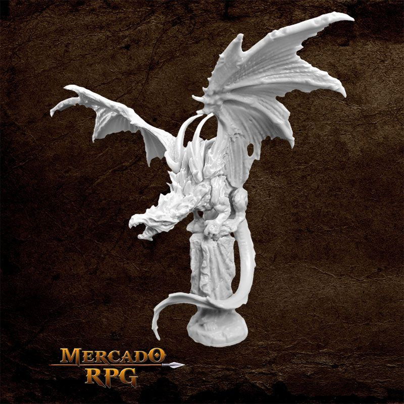 Temple Dragon - Miniatura RPG